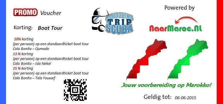 Scuba Trip AL Hoceima Voucher naarmaroc.nl
